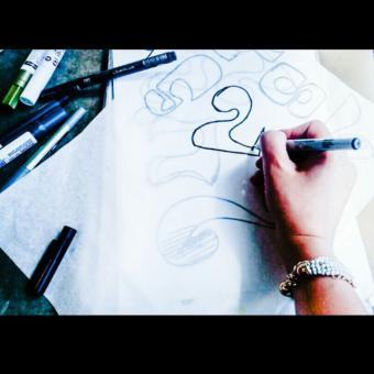 طراح گرافیک پروژه ای و صفحه بند